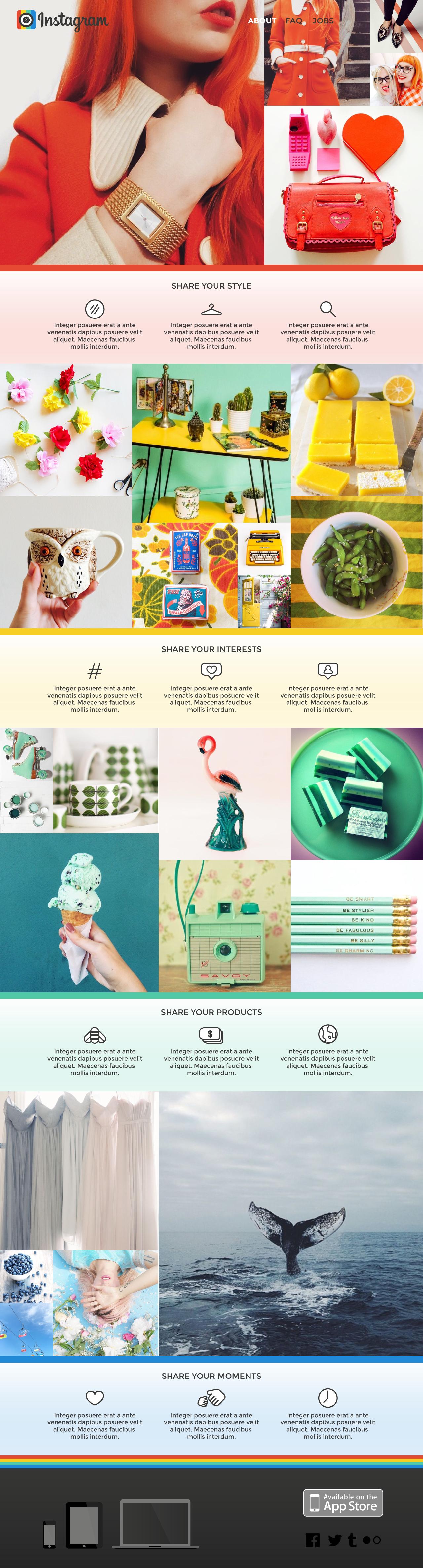 Jenni's Prints - Instagram - Web - Graphic Design