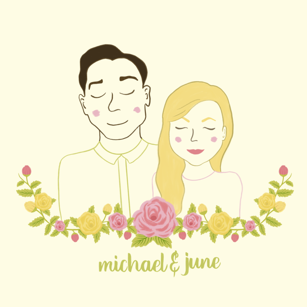 Jennis-Prints-Illustration-Wedding-June-Michael