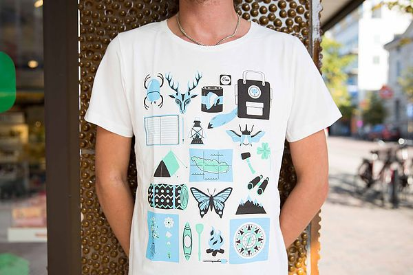 Jenni's Prints - I'm With Friends Nature - Illustration