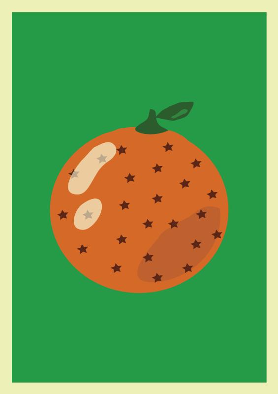 Jenni's Prints - Apelsin - Illustration