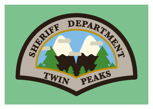 Jenni's Prints - Twin Peaks Sheriff - Illustration