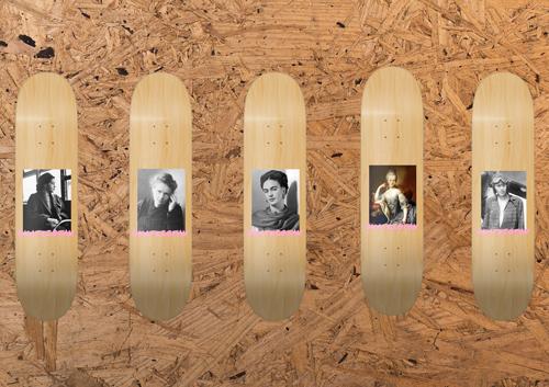 Jenni's Prints - Skateistan - Skateboards - Graphic Design